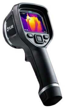 Termite Inspection FLIR thermal camera using by affordable pest control to detect pests