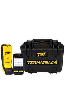 Termite Inspection termatrac movement detector using by affordable pest control to detect pests